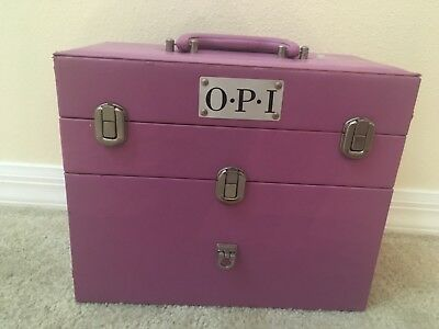 Opi Nail Polish Manicure Travel Carry Train Case Storage Organizer Carrier 32