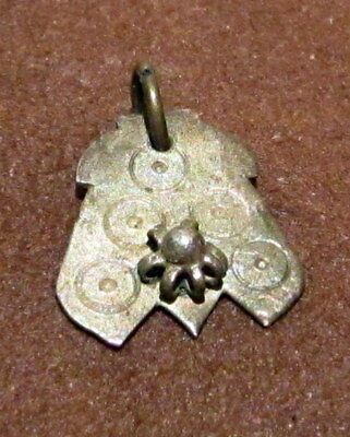 AMAZING ANTIQUE 15-16th.c.SILVER PENDANT  # 411