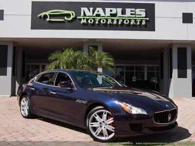 2014 Maserati Quattroporte S Q4 2014 Maserati Quattroporte S Q4 Automatic All Wheel Drive