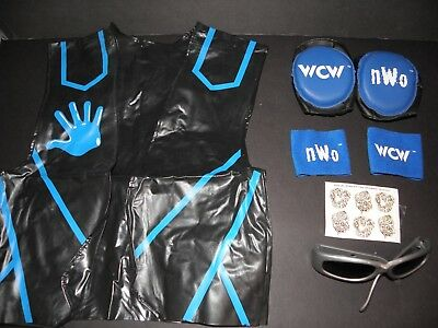 Vintage 1990's WCW Diamond Dallas Page NWO Official Costume/Accessories