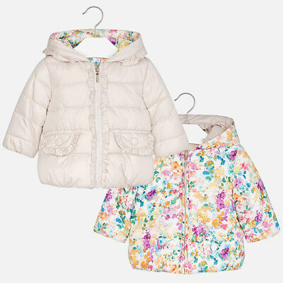 New Mayoral Baby Girl reversible coat, age 6 months. 2426