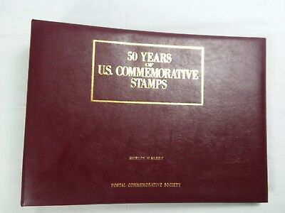 Postal Commemorative Society 50 Years of US Commemorative Stamps 1939, 1941-1957