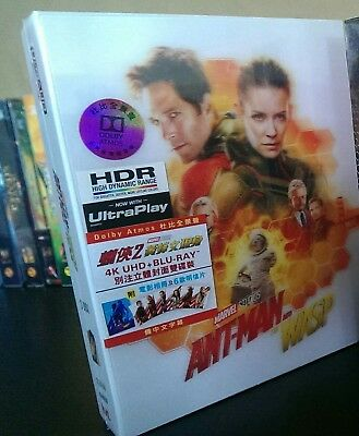 Ant-Man and the Wasp (2018) (4K Ultra HD + Blu-ray) (Special Edition) Marvel