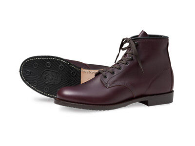 New Red Wing Beckman 9062 Flat Box Black Cherry Featherstone 8D Gro Cord 2nds