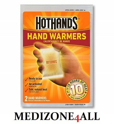 Hot Hands Hand Body Warmers Keep Warm Hot Winter  10 Hours of Heat FREE UK POST