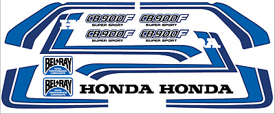 Dekorsatz Decals Honda CB 900 F Bol d'or Dekor Freddy Spencer