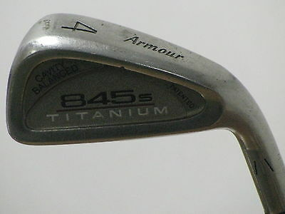 Tommy Armour 845s Titanium 4 Iron A-Flex Proforce 75 Gold Graphite Very Nice!!