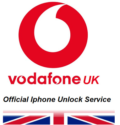 Vodafone Uk Factory Unlocked Service For Apple iphone 6/6+/6s/6s+/7/7+/8/8+/X