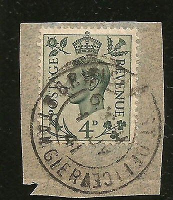 1941 British Morocco Tangiers On Piece Readable Dated Postmark Used In Morocco 3