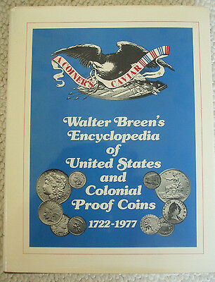 Walter Breen's Encyclopedia of United States and Colonial Proof Coins - 1977 1st