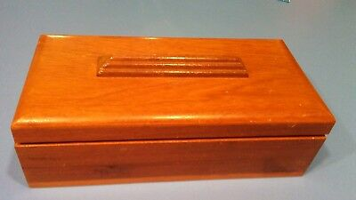 Vintage Art Deco Wood Box