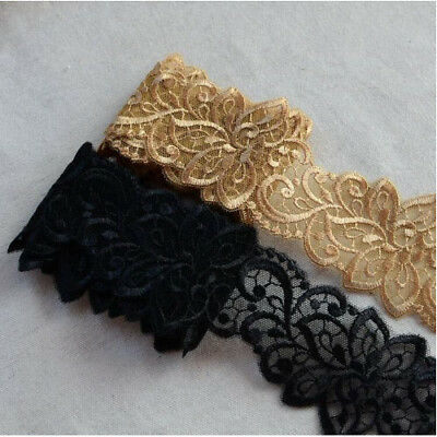 2 Metres Embroidery Wedding Dress Accessories Lace Trim Beautiful Lace Fabric