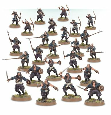 Warhammer Corsairs of Umbar The Lord of the Rings plastic new