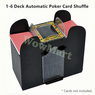 Casino 1-4 Deck Automatic Poker Card Shuffle Machine Texas Card Shuffler