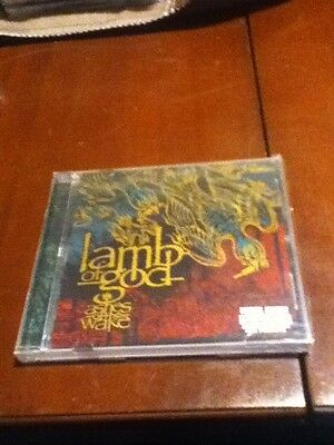 lamb of god ashes of the wake 2004 prosthetic  factory sealed death metal