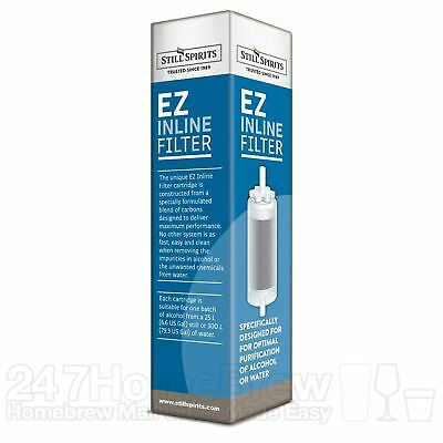 Still Spirits EZ-Filter Inline Filter System with Activated Carbon Cartridge