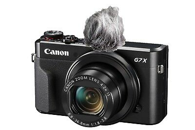 Camera Microphone Wind Muff Kit for Canon G7X and Other Cameras (Self-build Kit)