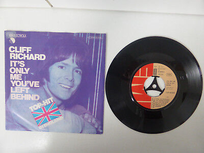 """Cliff Richard, It´s Only Me You´ve Left Behind/ You´re The One, 7"""" Single, 1975"""