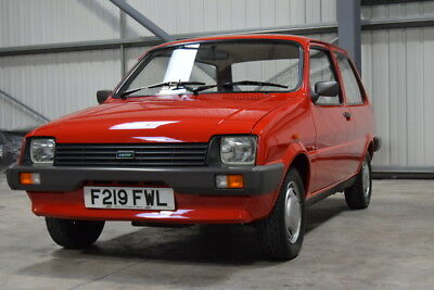 Austin Metro City, 1988, Only 3422 Miles From New And Truly Sensational!