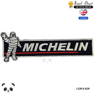 Michelin Racing Embroidered Iron On Sew On PatchBadge For Clothes etc