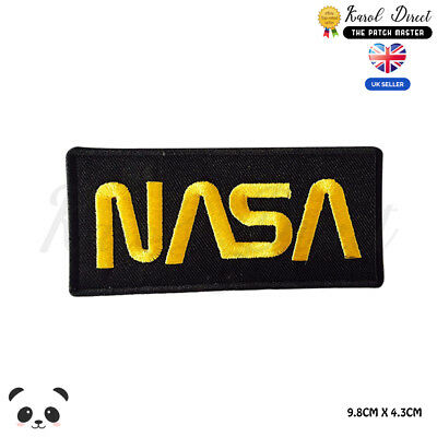 NASA  Embroidered Iron On Sew On PatchBadge For Clothes Bags Shoes Wallets Etc