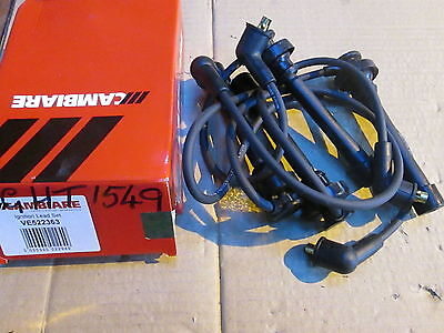 Vauxhall Frontera 2.0 Ignition Plug Lead Set Cambiare Ve 522232 New