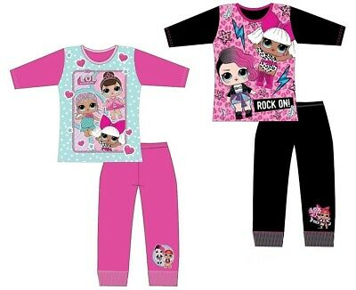 NOW IN STOCK! Girls Kids Official LOL Surprise Pyjama Set PJ Size Age 4-10 Year