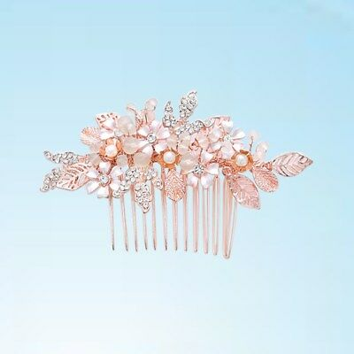 1pcs Bride Hair Combs Gorgeous Hair Jewelry Headdress Headwear for Evening Party