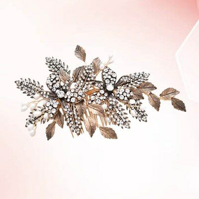 1pcs Bride Hair Combs Creative Inserted Comb Headdress for Banquet Wedding Party