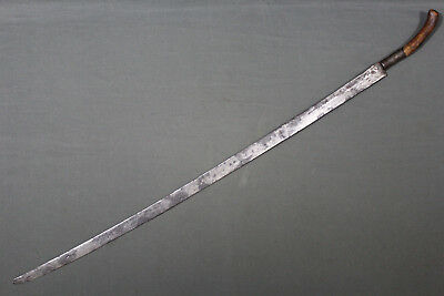 Unusual Southeast asian sword (sabre) - Indo-China 19th century