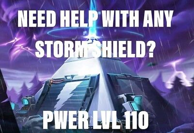 Fortnite Save The World Storm Shield Help ANY STORM SHIELD ANY LVL - PC/PS4/XBOX