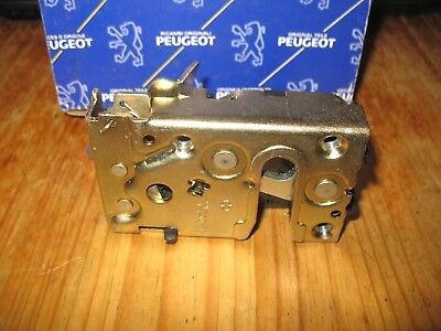 New Genuine Peugeot Citroen Ax 205 309 Rh Rear Door Lock Latch Mechanism 913836