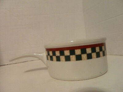 Betty Crocker Country Inn Collection Quality Stoneware Soup Bowl with handle