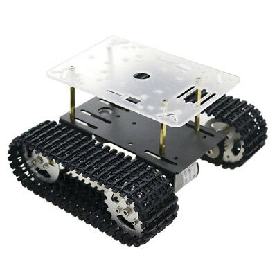 Shock Absorption Robot Tank Car Chassis Kit for Arduino Raspberry Pi DIY