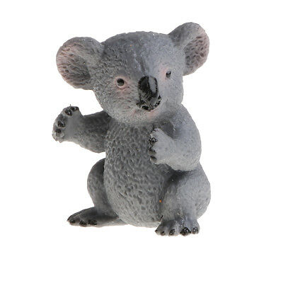 Realistic Wild Animal Koala Cub Model Figure Figurine Kids Educational Toy