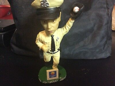 "The Mayberry Deputy David Browning Catching Baseball 7"" Bobblehead Comfort Inn"