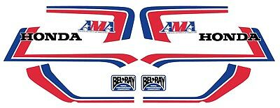 Dekorsatz Decals Honda CB 900 F Bol d'or -AMA- Dekor Freddy Spencer