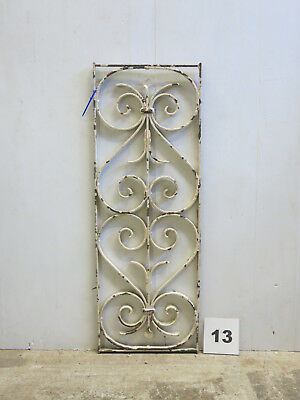 Antique Egyptian Architectural Wrought Iron Panel Grate (E-13)