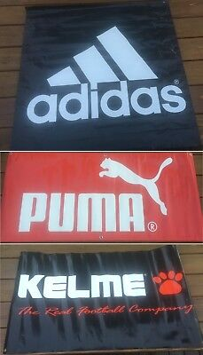 Choice adidas or Kelme Banner Poster Flag Advertising Store Display