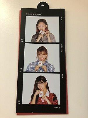 Twice Yes or Yes 6th Mini Album Official Photocard Nayeon Jeongyeon Momo