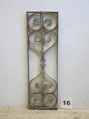 Antique Egyptian Architectural Wrought Iron Panel Grate (E-16)
