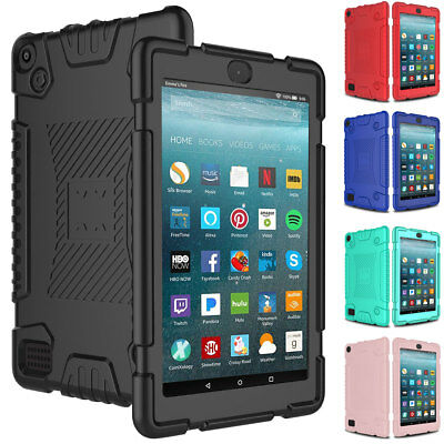 Kids Shockproof Soft Case Cover For Amazon Kindle Fire 7 HD 8 7th 8th Gen 2018