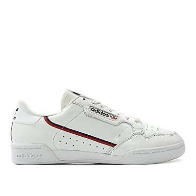 546282843c4b adidas Men Continental 80 Rascal White Scarlet Collegiate Navy Size 6.0 US