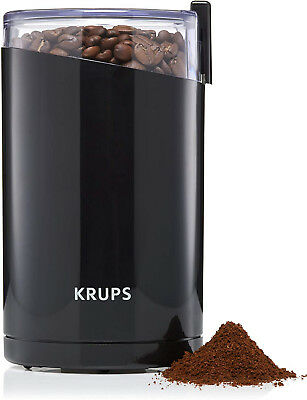 KRUPS Electric Spice And Coffee Grinder With Stainless Steel Blades, 3-Ounce,