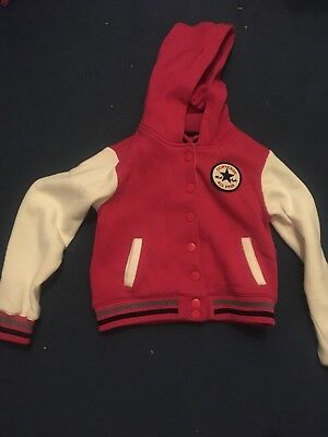 Converse Chuck Taylor Hooded Baseball Style Top 6-7 Years Used Once