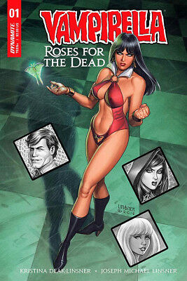 VAMPIRELLA ROSES OF THE DEAD #1 Linsner Cover Dynamite 1st Print New Unread NM