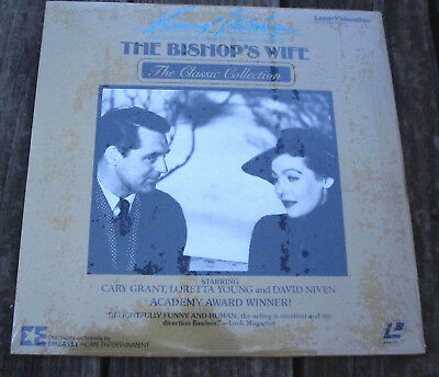 THE BISHOPS WIFE Laserdisc Cary Grant Loretta Young David Niven Christmas Movie