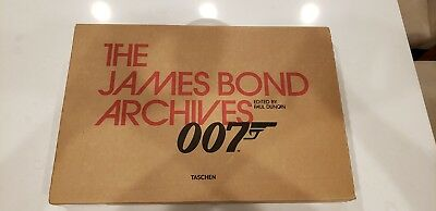 The James Bond Archives by Paul Duncan 1st Edition Print with Dr. No Film Strip