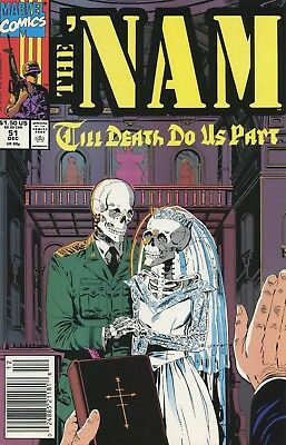 1990-92 The 'nam #51-66 ( Assorted Set Of 9 Issues )  Marvel Comics Vf/nm