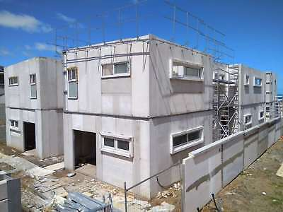 ARMGO insulated panel installation for external wall (half cost than Hebel)